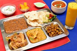 Lunch thali mix - indian lunch